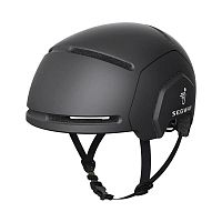 Шлем Xiaomi Segway Light Riding Helmet Black (Черный) — фото
