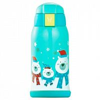 Детский термос Xiaomi Viomi Children Vacuum Flask 590 ml (Голубой) — фото