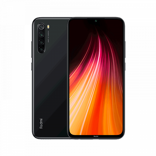 Смартфон Xiaomi Redmi Note 8 128GB/6GB Black (Черный) — фото