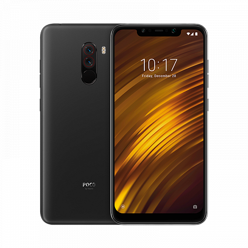 Смартфон Pocophone F1 64GB/6GB Black (Черный) — фото