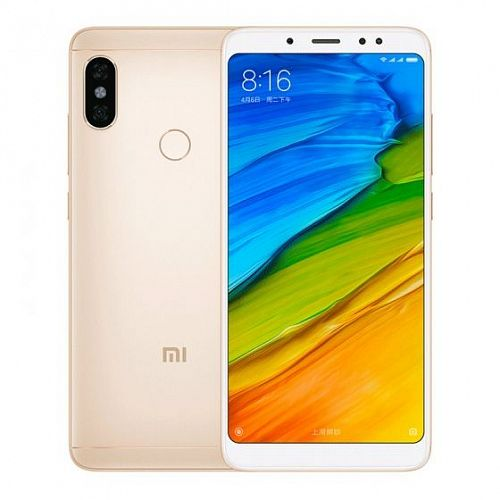 Смартфон Xiaomi Redmi Note 5 32GB/3GB Gold (Золото) — фото