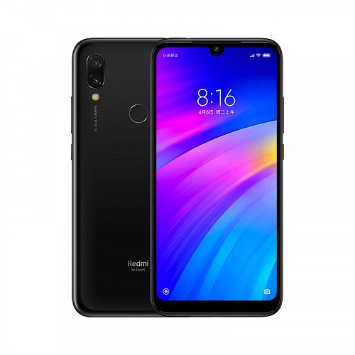 Смартфон Xiaomi Redmi 7 32GB/3GB Black (Черный) — фото