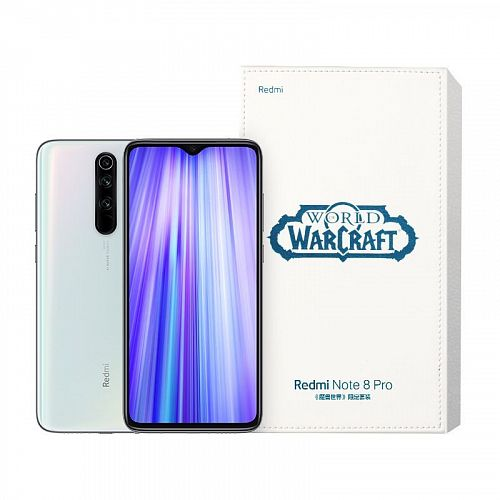 купить Смартфон Xiaomi Redmi Note 8 Pro World of Warcraft Edition 128GB/8GB White (Белый) в Ижевске